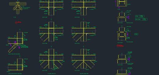 Xsteel Çelik Birleşim Detayları